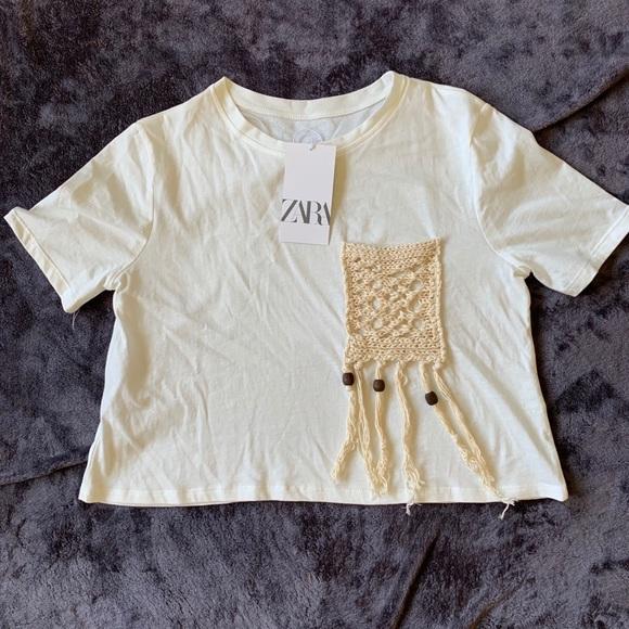 Zara Tops - Zara Crop Top